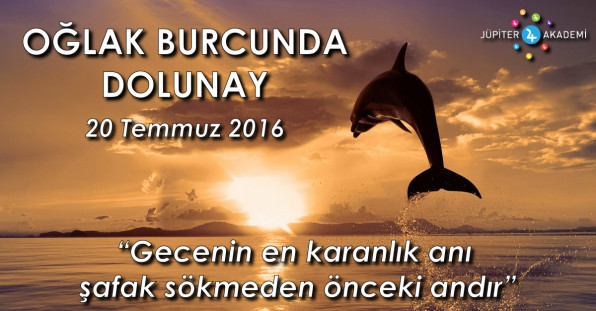 Oğlak Burcunda Dolunay - 20 Temmuz 2016