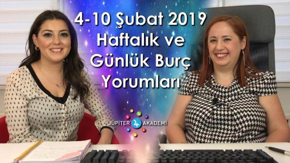 4 – 10 Şubat 2019 Haftalık ve Günlük Burç Yorumları
