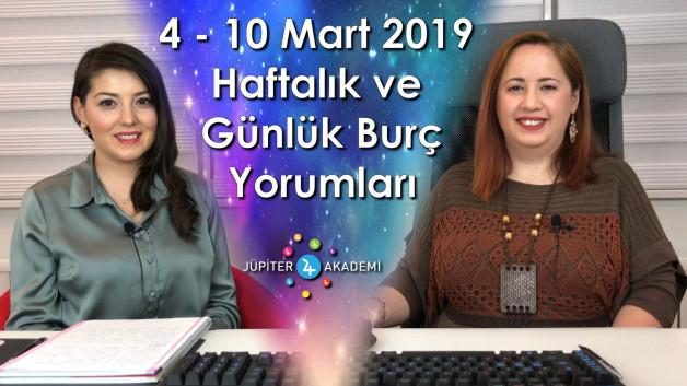 4 – 10 Mart 2019 Haftalık, Günlük Burç Yorumları ve Uranüs Boğa Burcunda