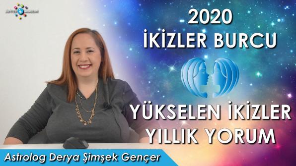 2020 İkizler Burcu ve Yükselen İkizler için Yıllık Burç Yorumları