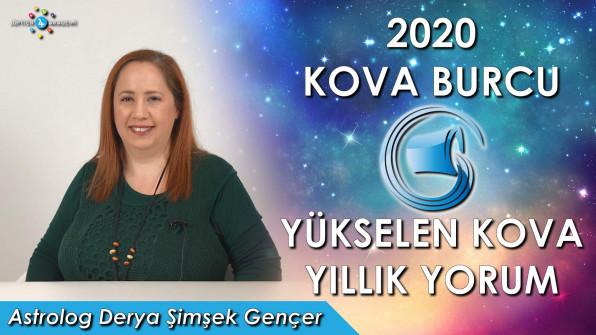 2020 Kova Burcu ve Yükselen Kova için Yıllık Burç Yorumları