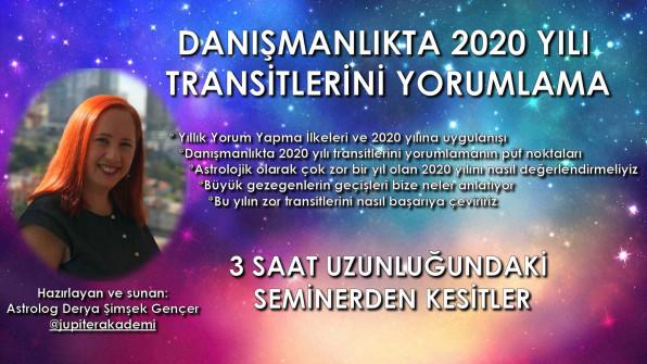Danışmanlıkta 2020 Yılı Transitlerini Yorumlama Semineri – Kesitler