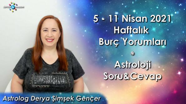 5 – 11 Nisan 2021 Haftalık Burç Yorumları ve Astroloji Soru&Cevap