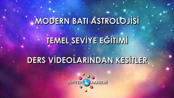Modern Batı Astrolojisi Temel Seviye Eğitimi – Ders Videolarından Kesitler
