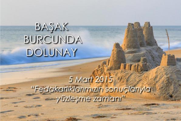 Başak Burcunda Dolunay - 5 Mart 2015