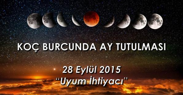 Koç Burcunda Ay Tutulması – 28 Eylül 2015